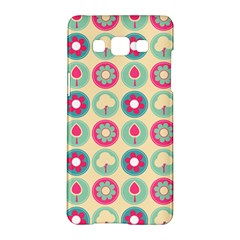 Chic Floral Pattern Samsung Galaxy A5 Hardshell Case