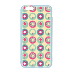 Chic Floral Pattern Apple Seamless iPhone 6/6S Case (Color)