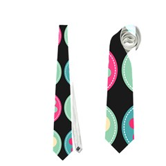 Chic Floral Pattern Neckties (One Side)