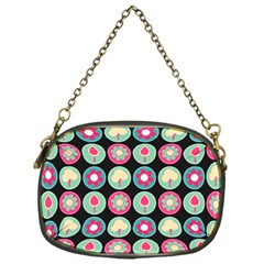 Chic Floral Pattern Chain Purses (One Side)