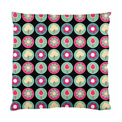 Chic Floral Pattern Standard Cushion Case (One Side)