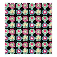 Chic Floral Pattern Shower Curtain 66  X 72  (large)