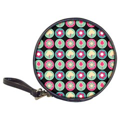 Chic Floral Pattern Classic 20-CD Wallets