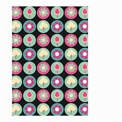 Chic Floral Pattern Small Garden Flag (Two Sides)