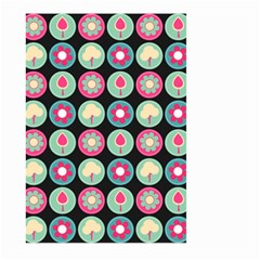Chic Floral Pattern Large Garden Flag (Two Sides)