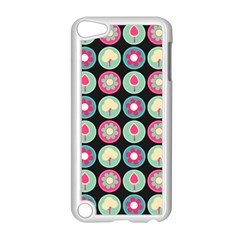 Chic Floral Pattern Apple iPod Touch 5 Case (White)