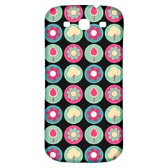 Chic Floral Pattern Samsung Galaxy S3 S III Classic Hardshell Back Case