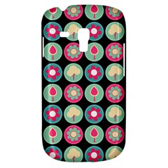 Chic Floral Pattern Samsung Galaxy S3 MINI I8190 Hardshell Case