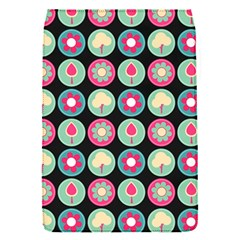 Chic Floral Pattern Flap Covers (S)