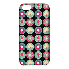 Chic Floral Pattern Apple iPhone 5C Hardshell Case