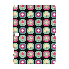 Chic Floral Pattern Samsung Galaxy Note 10.1 (P600) Hardshell Case