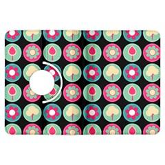 Chic Floral Pattern Kindle Fire HDX Flip 360 Case