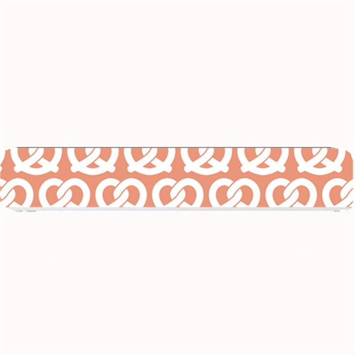 Salmon Pretzel Illustrations Pattern Small Bar Mats