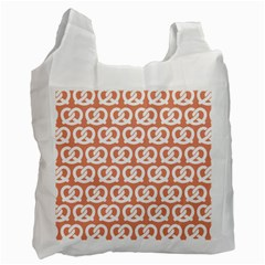 Salmon Pretzel Illustrations Pattern Recycle Bag (Two Side)