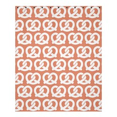 Salmon Pretzel Illustrations Pattern Shower Curtain 60  x 72  (Medium)