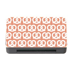 Salmon Pretzel Illustrations Pattern Memory Card Reader with CF