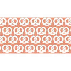 Salmon Pretzel Illustrations Pattern You Are Invited 3d Greeting Card (8x4)