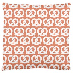 Salmon Pretzel Illustrations Pattern Large Cushion Cases (one Side)
