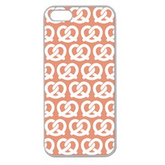 Salmon Pretzel Illustrations Pattern Apple Seamless iPhone 5 Case (Clear)