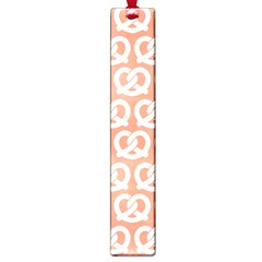 Salmon Pretzel Illustrations Pattern Large Book Marks