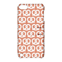 Salmon Pretzel Illustrations Pattern Apple iPod Touch 5 Hardshell Case with Stand