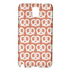 Salmon Pretzel Illustrations Pattern Samsung Galaxy Note 3 N9005 Hardshell Case