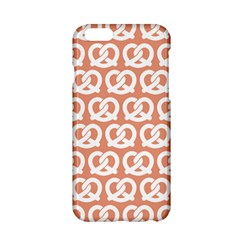 Salmon Pretzel Illustrations Pattern Apple iPhone 6/6S Hardshell Case