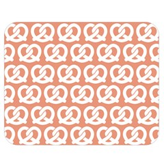 Salmon Pretzel Illustrations Pattern Double Sided Flano Blanket (medium)