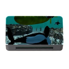 Submarine With Orca Memory Card Reader with CF