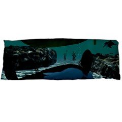 Submarine With Orca Body Pillow Cases Dakimakura (Two Sides)