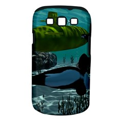 Submarine With Orca Samsung Galaxy S III Classic Hardshell Case (PC+Silicone)
