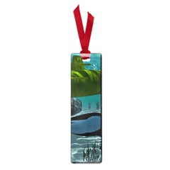 Submarine With Orca Small Book Marks