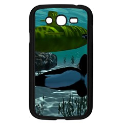 Submarine With Orca Samsung Galaxy Grand DUOS I9082 Case (Black)