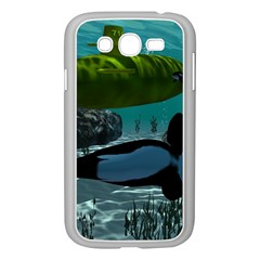 Submarine With Orca Samsung Galaxy Grand DUOS I9082 Case (White)