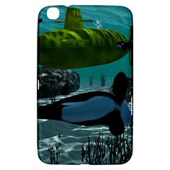 Submarine With Orca Samsung Galaxy Tab 3 (8 ) T3100 Hardshell Case