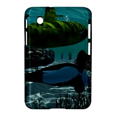 Submarine With Orca Samsung Galaxy Tab 2 (7 ) P3100 Hardshell Case