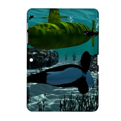 Submarine With Orca Samsung Galaxy Tab 2 (10.1 ) P5100 Hardshell Case
