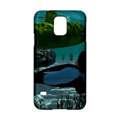 Submarine With Orca Samsung Galaxy S5 Hardshell Case
