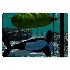 Submarine With Orca Ipad Air Flip