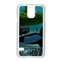 Submarine With Orca Samsung Galaxy S5 Case (White)