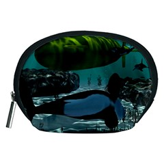 Submarine With Orca Accessory Pouches (Medium)