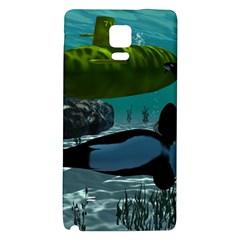 Submarine With Orca Galaxy Note 4 Back Case