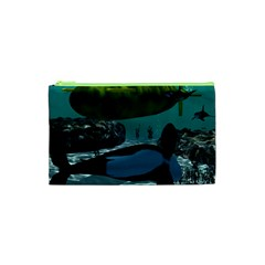 Submarine With Orca Cosmetic Bag (XS)
