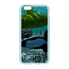 Submarine With Orca Apple Seamless iPhone 6/6S Case (Color)