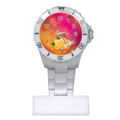 Beautiful Roses With Dragonflies Nurses Watches