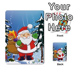 Funny Santa Claus In The Forrest Multi-purpose Cards (Rectangle)