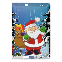 Funny Santa Claus In The Forrest Kindle Fire Hd (2013) Hardshell Case