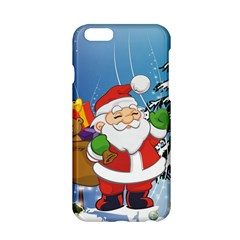 Funny Santa Claus In The Forrest Apple Iphone 6/6s Hardshell Case