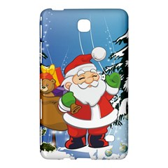 Funny Santa Claus In The Forrest Samsung Galaxy Tab 4 (8 ) Hardshell Case