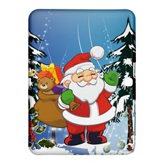 Funny Santa Claus In The Forrest Samsung Galaxy Tab 4 (10 1 ) Hardshell Case